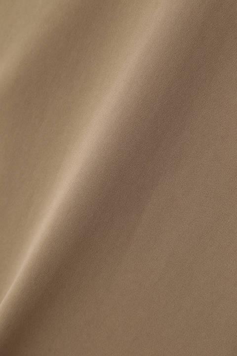 トリアセ二重織セットアップブラウス