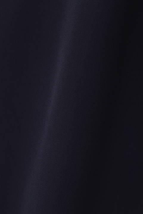[ウォッシャブル] ボータイフリルブラウス