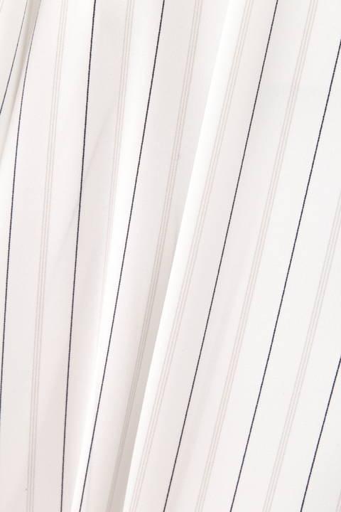 【ドラマ 波瑠さん着用】[ウォッシャブル] ストライププリントブラウス