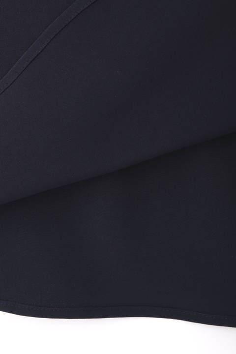 【雑誌 BAILA 10月号掲載】[ウォッシャブル]ロングブラウス