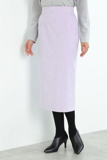 【先行予約 10月中旬-下旬入荷予定】細コールロングタイトスカート