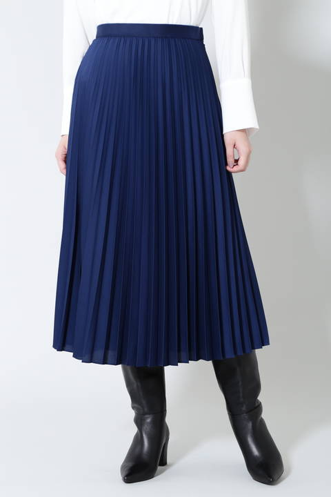 《B ability》ライトサテンセットアップスカート