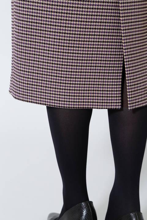 《B ability》チェックツイードタイトスカート