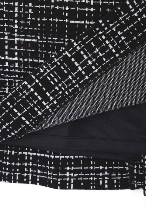 ジャガードチェックセットアップスカート