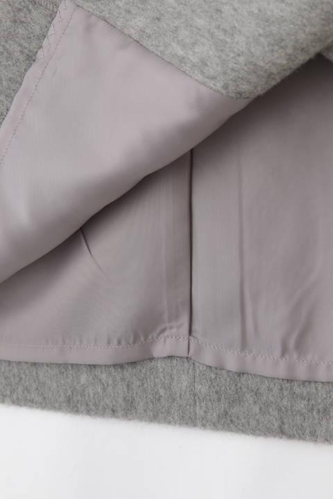 ウールビーバーセットアップスカート