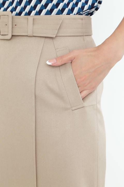 [ウォッシャブル]TRツイルスカート