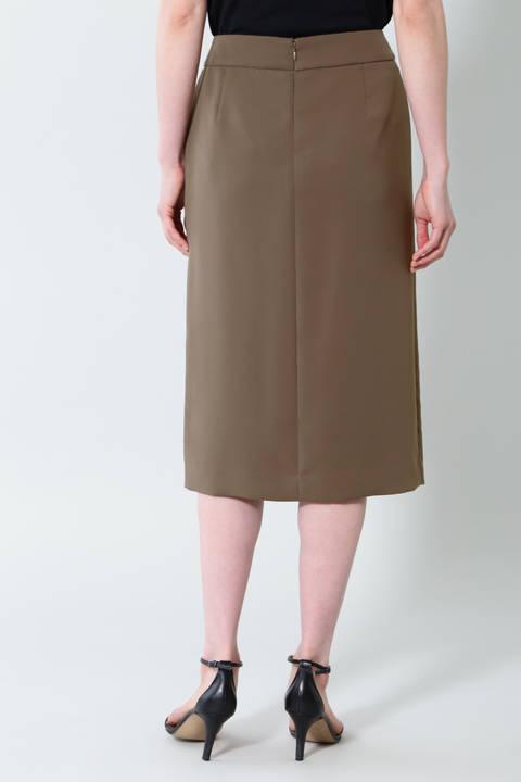 【先行予約 7月中旬-下旬入荷予定】《B ability》サテンセットアップスカート