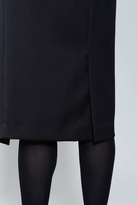 【ドラマ 鈴木京香さん着用】《B ability》スリットラップスカート