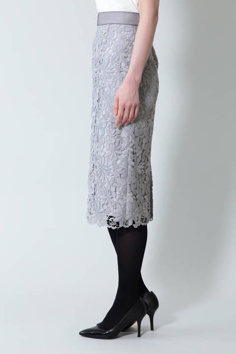 《B ability》ケミカルレースタイトスカート