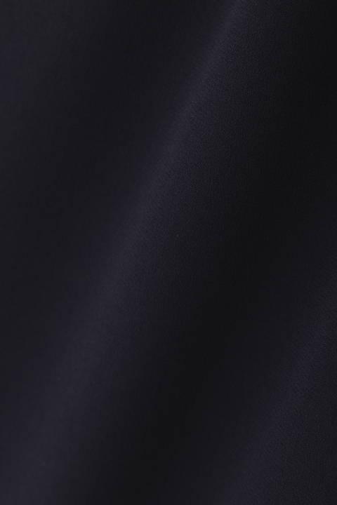 【ドラマ 中谷美紀さん着用】《B ability》バックサテンジョーゼットスカート
