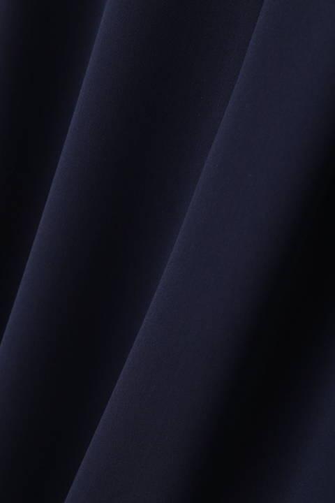[ウォッシャブル]ラペルカラーワンピース