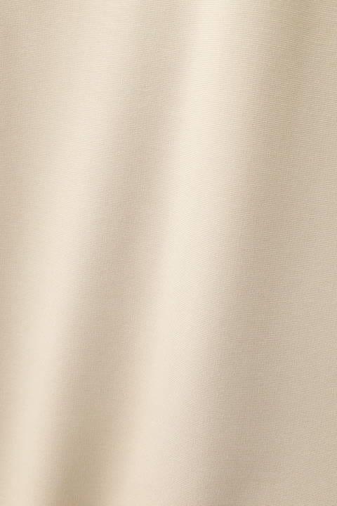 [ウォッシャブル]ベルト付スリットワンピース
