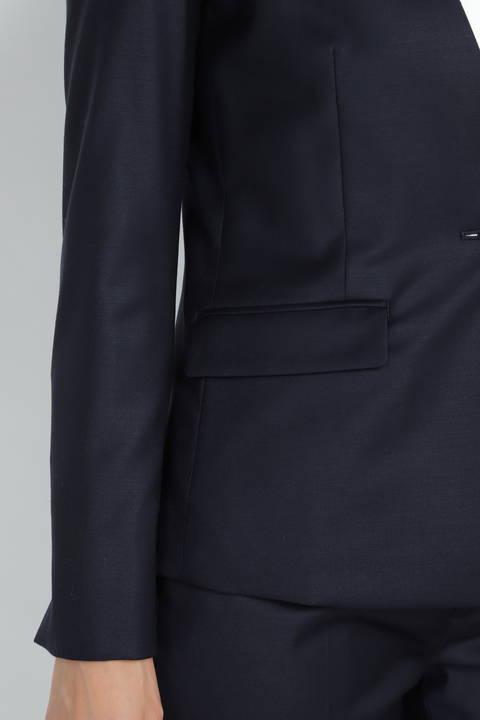 【ドラマ 波瑠さん 中谷美紀さん 着用】シルクウールギャバストレッチセットアップジャケット