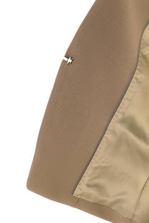 《B ability》トリアセ二重織セットアップジャケット
