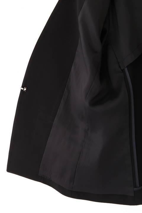 [ウォッシャブル]2WAYストレッチセットアップジャケット