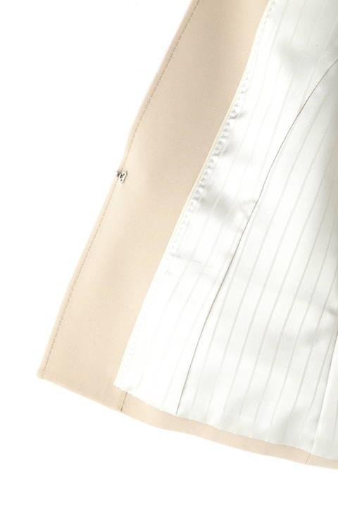 【ドラマ 中谷美紀さん着用】《B ability》バックサテンジョーゼットセットアップジャケット