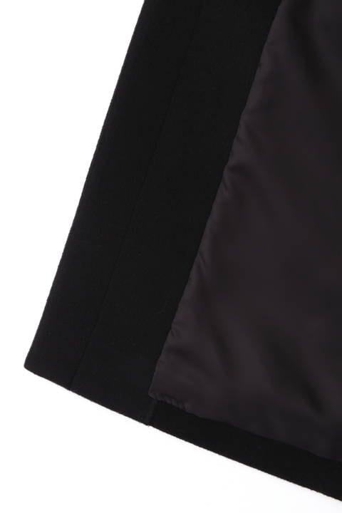 【先行予約 9月下旬-10月上旬入荷予定】ファー付ステンカラーコート