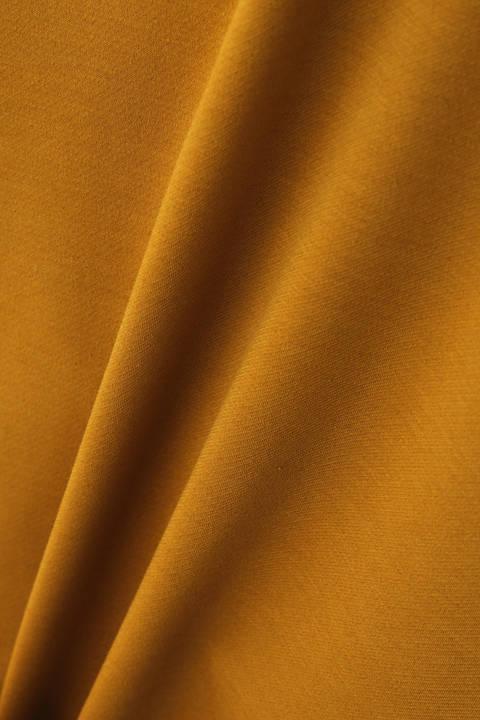 【雑誌 BAILA 10月号掲載】[ウォッシャブル]ストレッチツイルジャージーセットアップカットソー