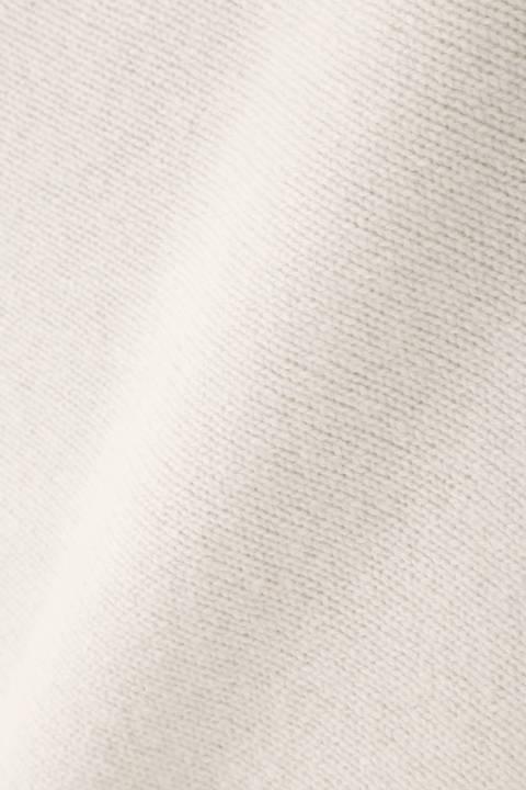[パープル WEB限定商品]【雑誌 Oggi 12月号掲載】メリノウーレンミドルゲージボートネックニット