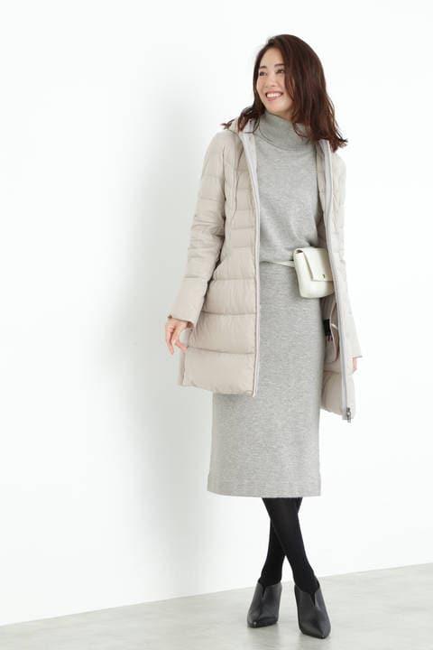 【雑誌 Oggi 12月号掲載】ハイゲージニットセットアップスカート