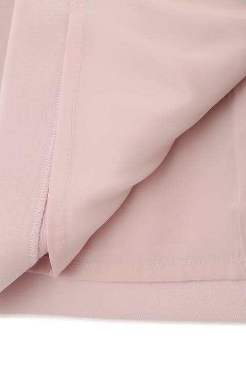 ダブルクロスラップ風スカート