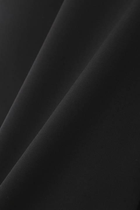ウールタイプライターミディスカート