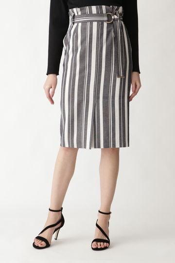 【先行予約 2月中旬-下旬入荷予定】ドビーストライプタイトスカート