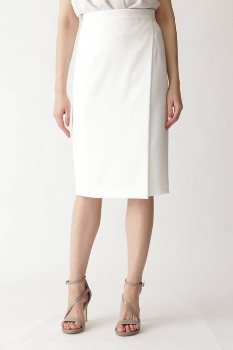 トリアセ綾二重スカート