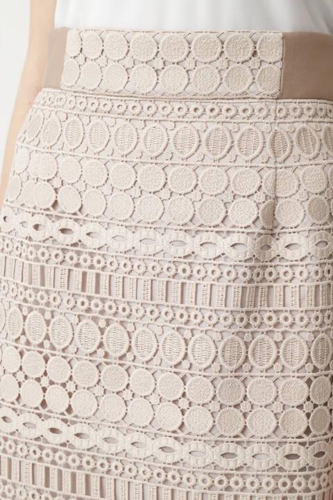 オーバルレーススカート
