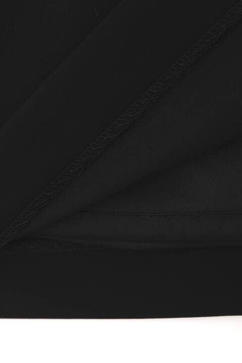 【先行予約 6月中旬-下旬入荷予定】フェイクレザーベルト付きセットアップスカート
