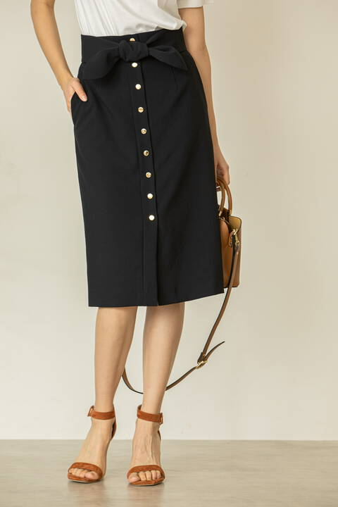 【先行予約 6月中旬-下旬入荷予定】フロントメタルドットスカート