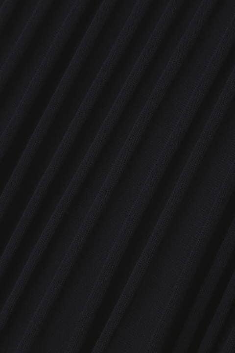 プリーツライクニットスカート