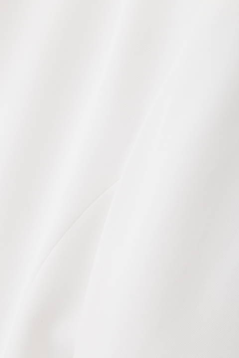 トリアセ綾二重ノーカラージャケット