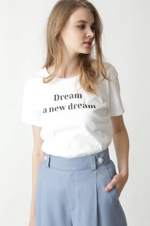 [ウォッシャブル]Dream a new dream Tシャツ