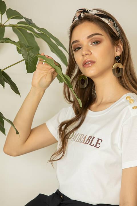 [ウォッシャブル]ADMIRABLE Tシャツ