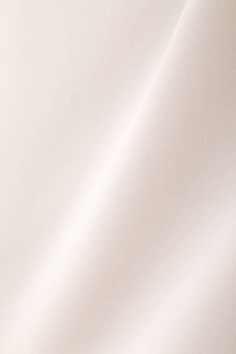 【先行予約 8月下旬-9月上旬入荷予定】パール釦プルオーバーブラウス