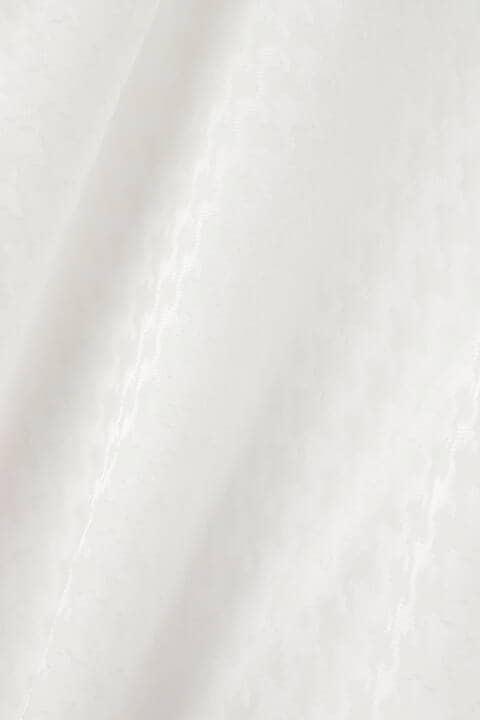 ラッフルタイ千鳥オパールブラウス