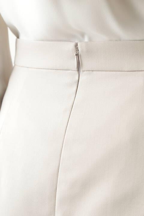 ウールセットアップスカート