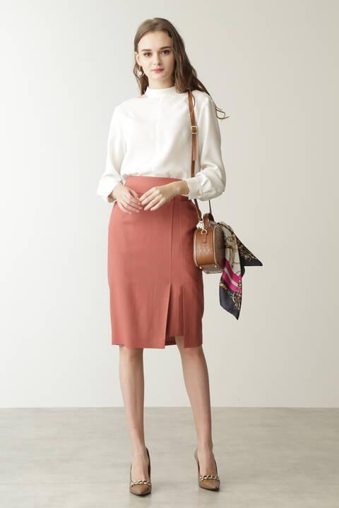 ダブルビットラップ風スカート