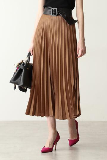 【先行予約 7月下旬-8月上旬入荷予定】ウールビエラプリーツスカート