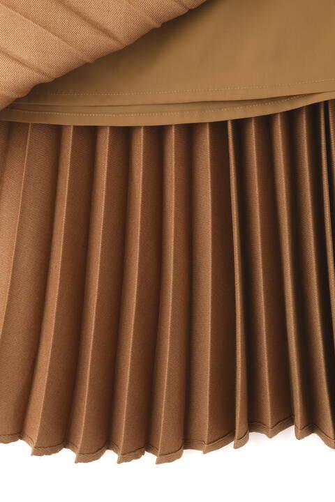 ウールビエラプリーツスカート