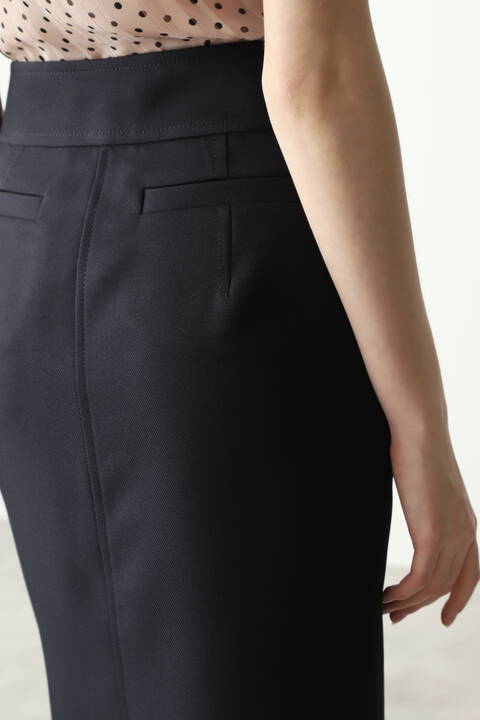 ダブルビットタイトスカート