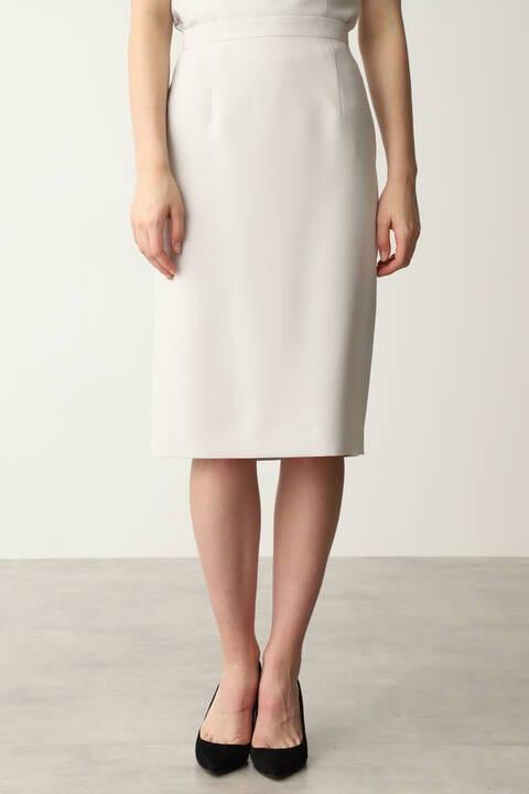 【先行予約 8月旬中-8月下旬入荷予定】綾二重セットアップスカート