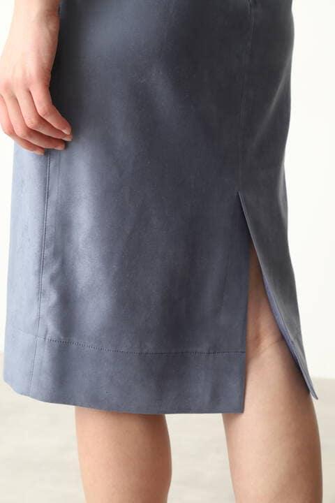 【先行予約 8月下旬-9月上旬入荷予定】エルモザスエードビットスカート