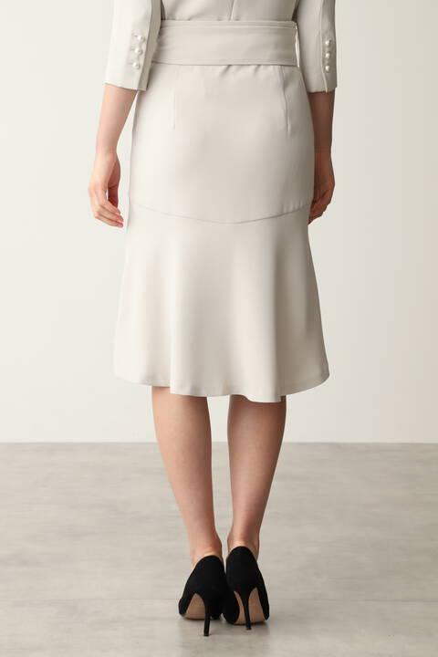 バックマーメイドセットアップスカート