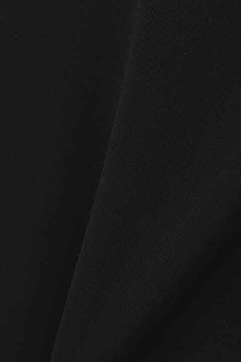[ウォッシャブル]マットポンチバイカラーワンピース