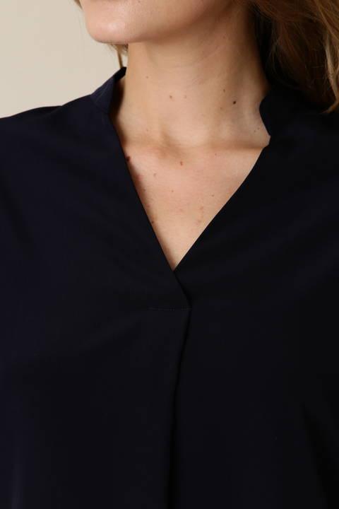 ターンアップスリーブソフトシャツ