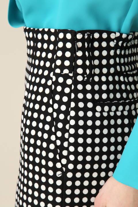 ドットPTベルト付きスカート