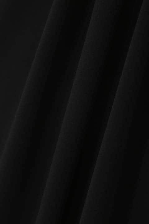 メタルプレート ドレープワンピース