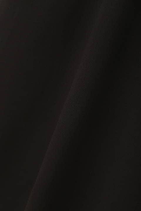 ノーカラーロングシアーシャツ